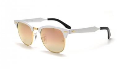 a7508f7c7fc Sunglasses Ray-Ban Clubmaster Aluminium Silver RB3507 137 70 49-21 Small  Degraded Flash