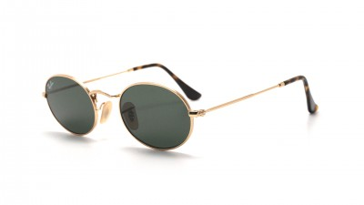 Ray-Ban Oval flat lenses Gold RB3547N 001 48-21 84,24 €