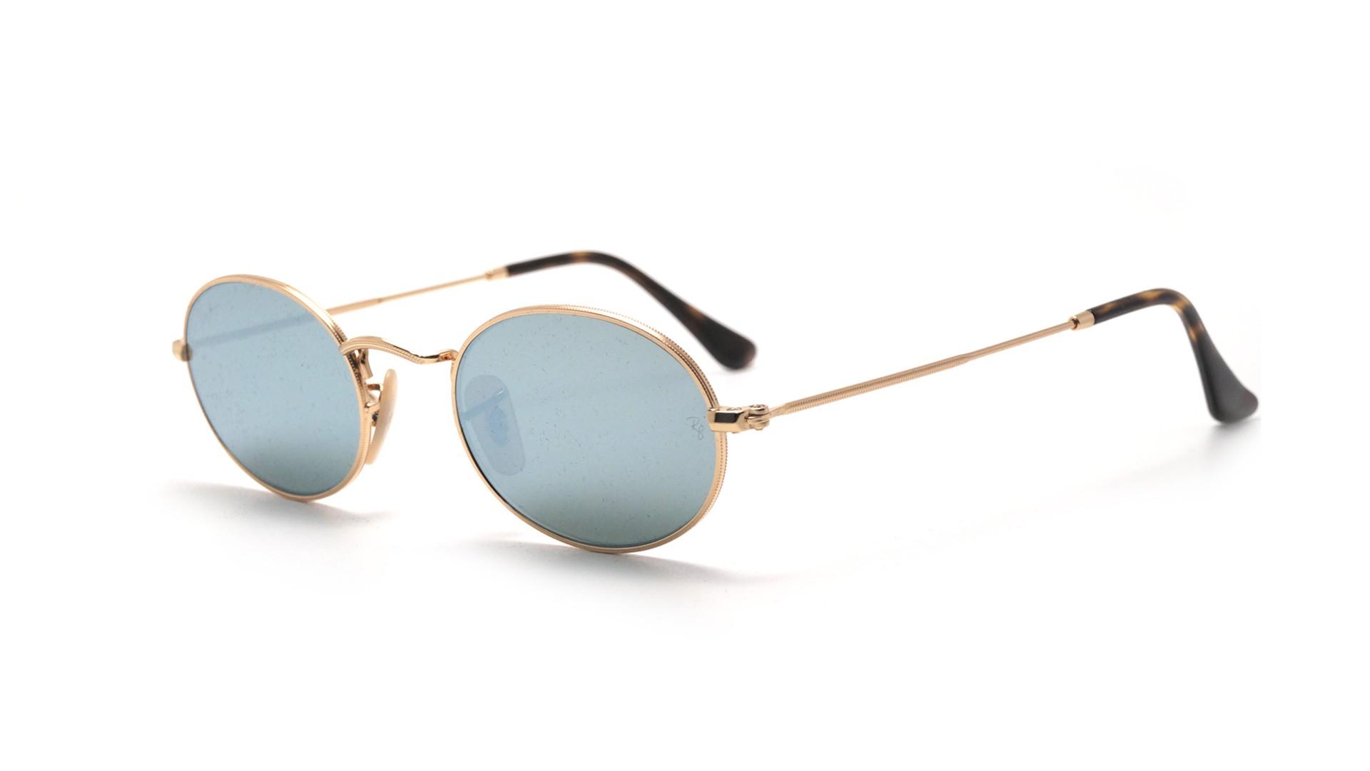 55e6886f9c Sunglasses Ray-Ban RB3547N 001 30 48-21 Gold Small Flash