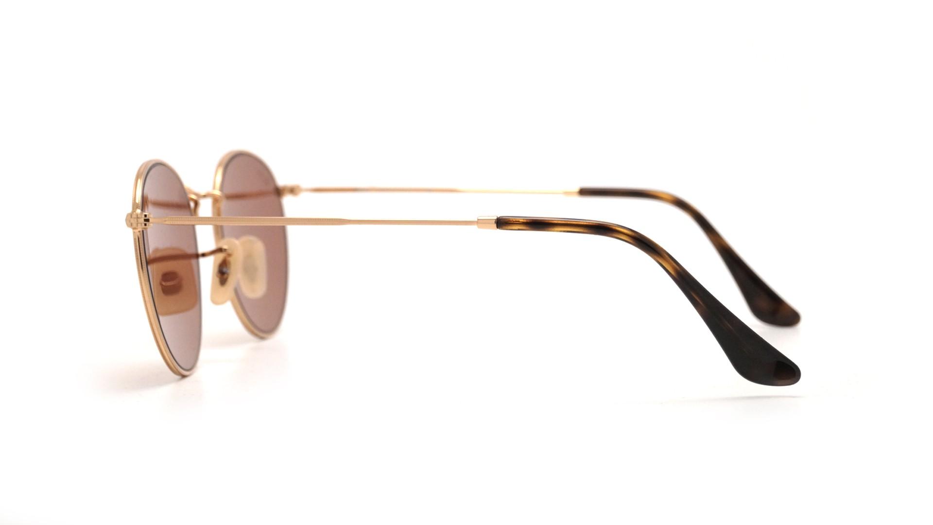 828c28fc635 Ray-Ban Round Metal Flat Lenses Or RB3447N 001 Z2 50-21