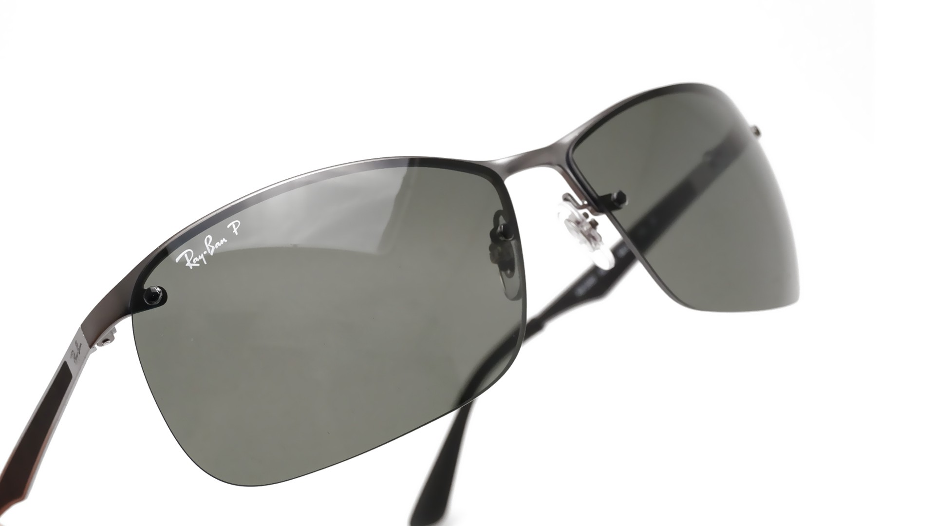 8671064c93b Sunglasses Ray-Ban RB3550 029 9A 64-15 Matte Grey Large Polarized