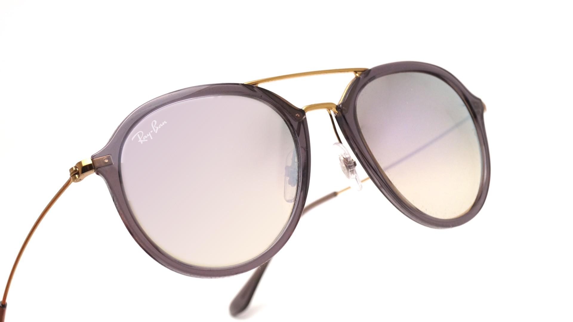 e0b68a5c0 Sunglasses Ray-Ban RB4253 62377X 53-21 Grey Medium Degraded Flash