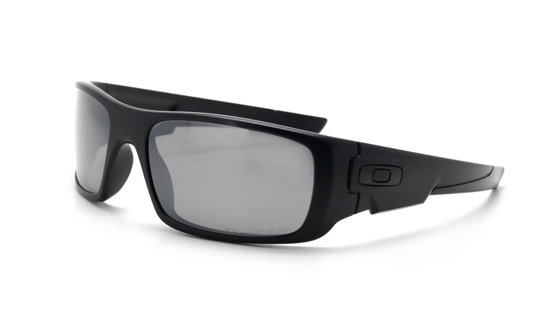 7d9b20b5a4 Sunglasses Oakley Crankshaft Black Mat OO9239 06 60-19 Medium Polarized