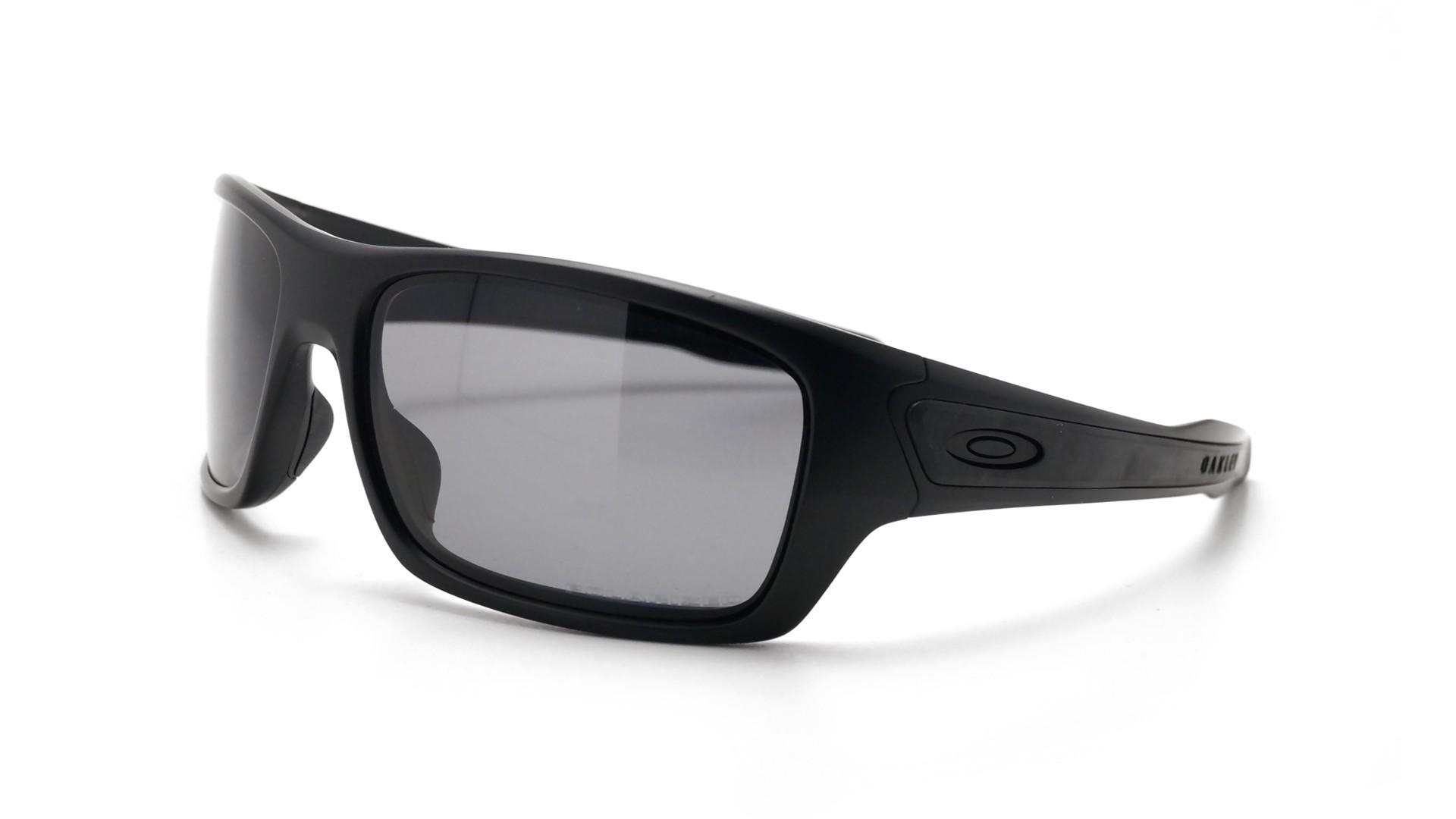 345c5cc03c Sunglasses Oakley Turbine Matte Black OO9263 07 65-17 Large Polarized