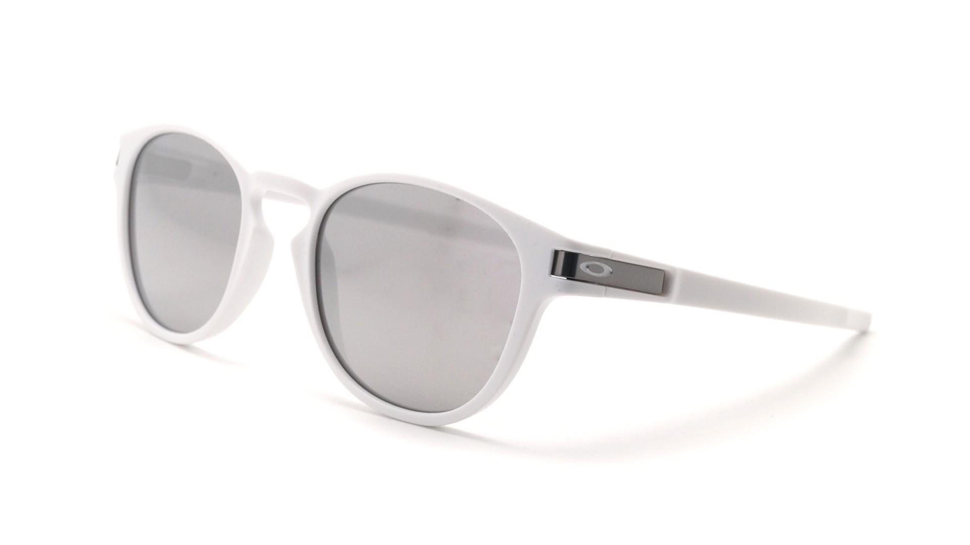 186ce34743f Sunglasses Oakley Latch White Mat OO9265 16 53-21 Medium Flash