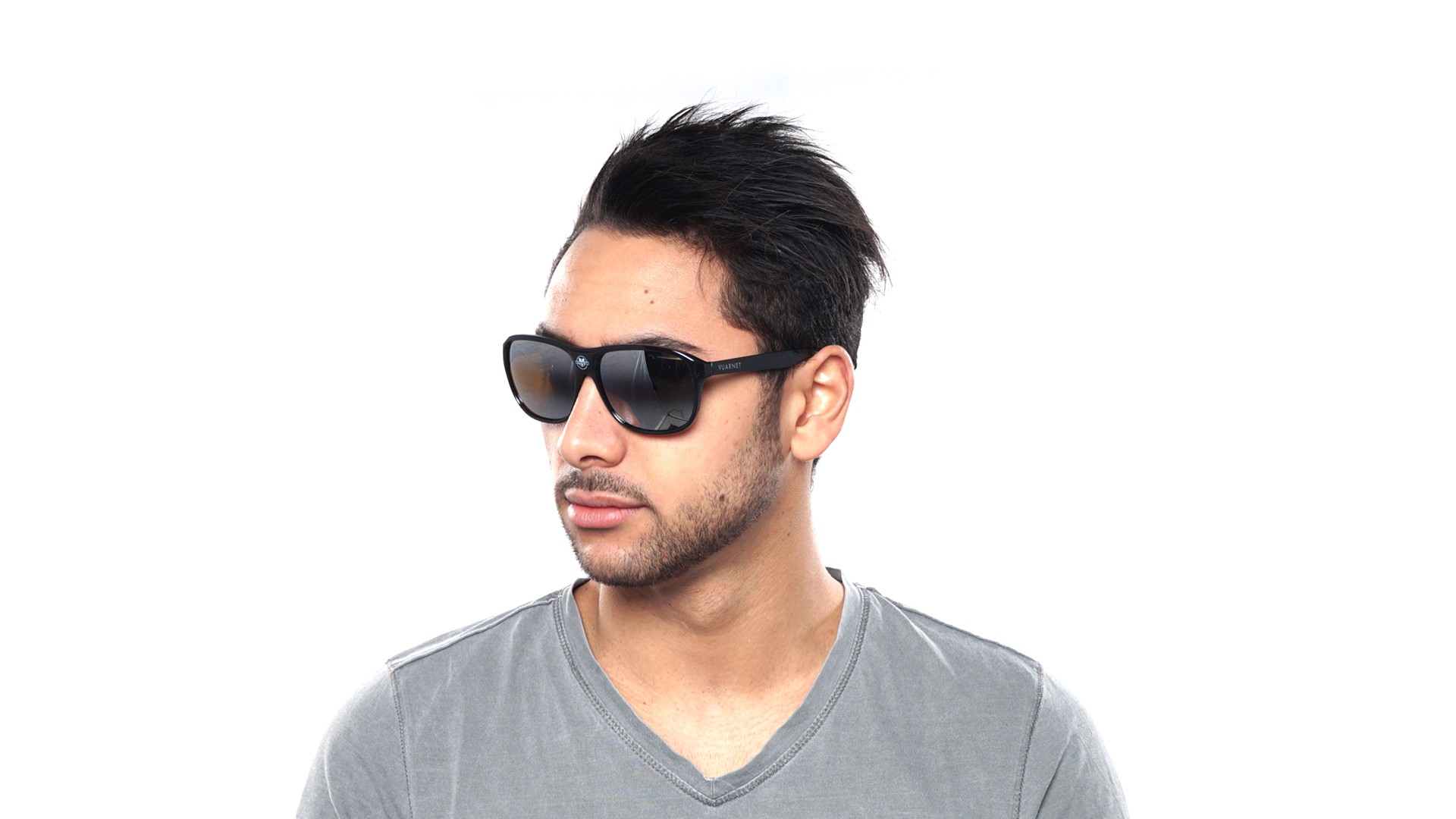 bbffcd92b2 Sunglasses Vuarnet Legends Black Skilynx VL0003 0001 56-19 Large Gradient  Mirror