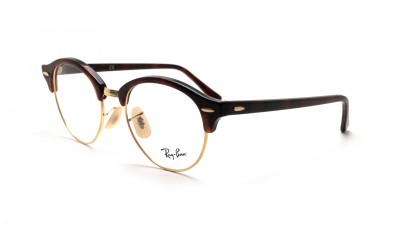 Eyeglasses Ray-Ban Clubround Tortoise RX4246 RB4246V 2372 49-19 Medium 74,92 €