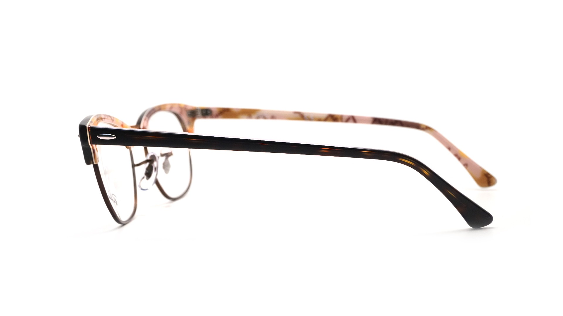 Lunettes de vue Ray-Ban Clubmaster Écaille RX5154 RB5154 5650 51-21   Prix  89,90 €   Visiofactory 1b4449a4f8f1