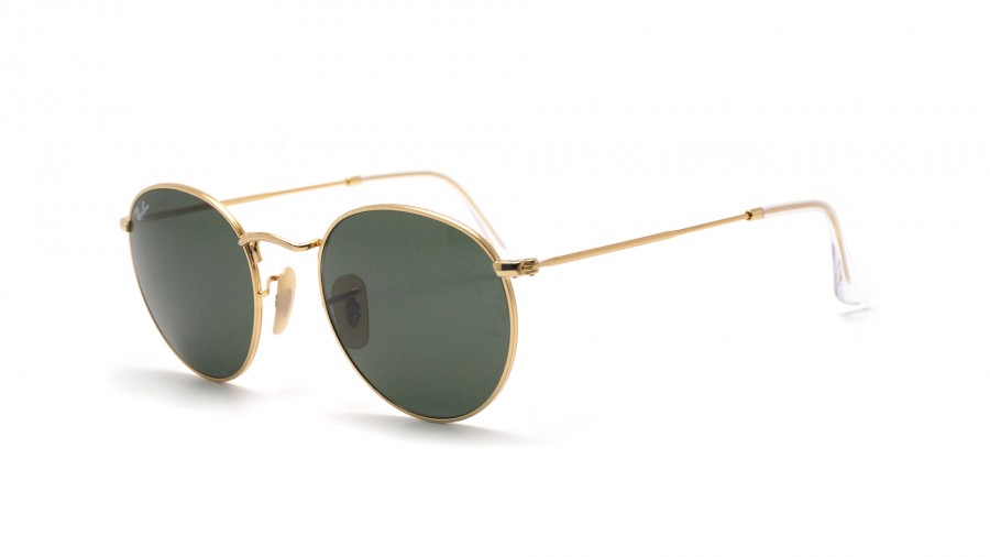 137a9941930 Sunglasses Ray-Ban Round Metal Gold RB3447 001 50-21 Medium