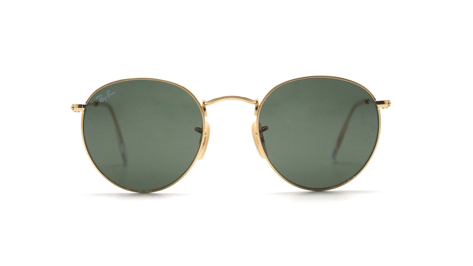 Ray-Ban Round Metal Or RB3447 001 47-21   Prix 82,95 €   Visiofactory 9c88fa352d9b