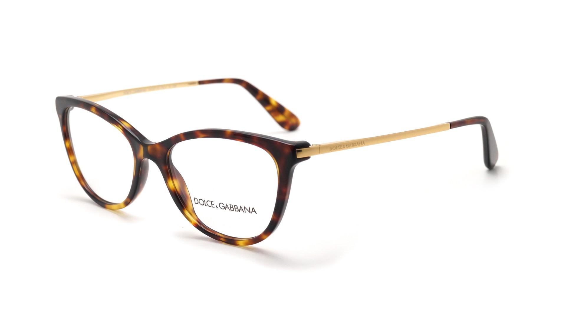 0ae8fc5409b Lunettes de vue Dolce   Gabbana DG3258 502 52-17 Écaille Medium