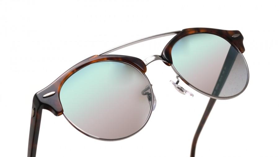 524252337f4 ray ban clubround double bridge sunglasses