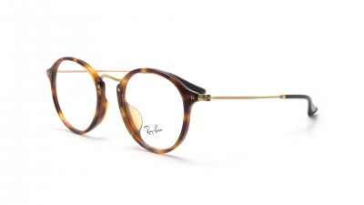 Lunettes de vue Ray Ban Round Fleck Asian Fit Écaille RX2447 RB2447VF 5494 49 14 Medium 74,92 €