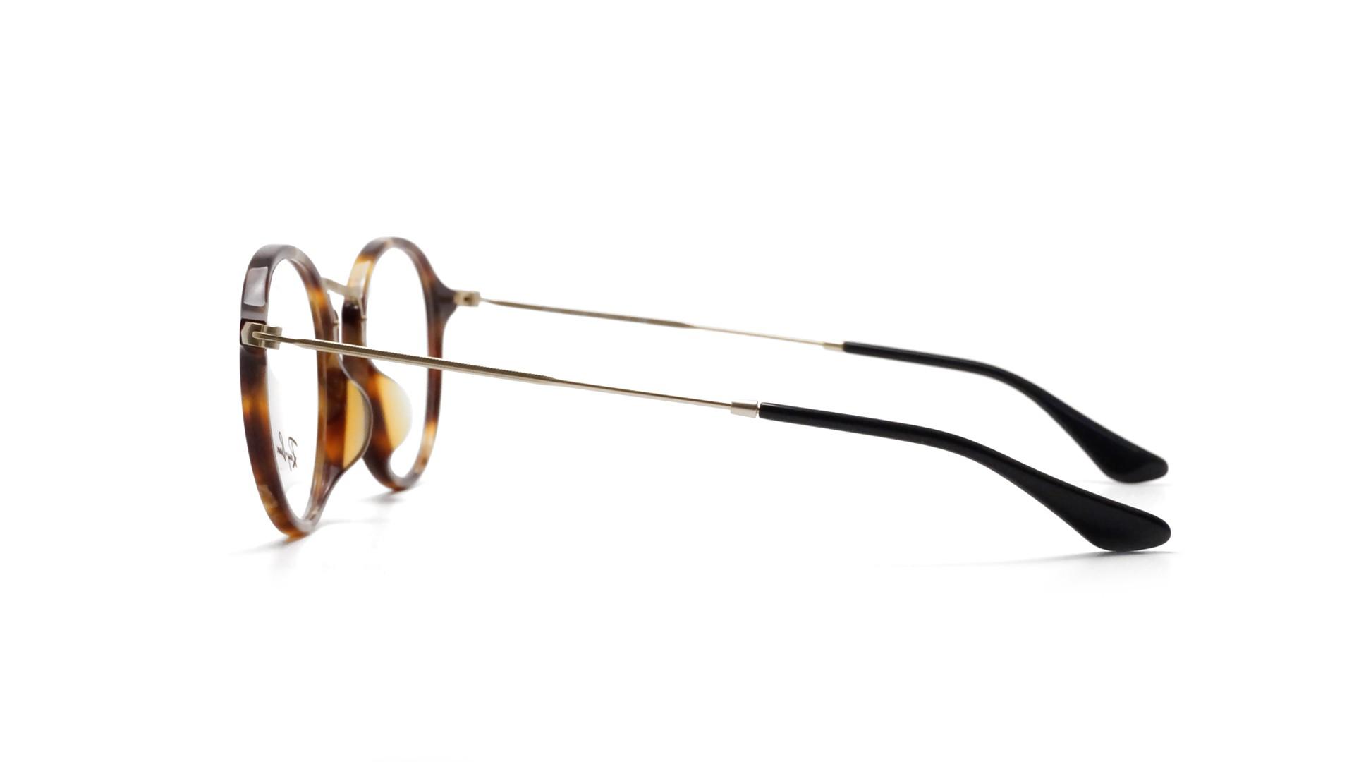 8358af352a Eyeglasses Ray-Ban Round fleck Asian Fit Tortoise RX2447 RB2447VF 5494 49-14  Medium