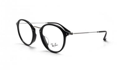 Lunettes de vue Ray Ban Round Fleck Asian Fit Black RX2447 RB2447VF 2000 49 14 Medium 74,92 €