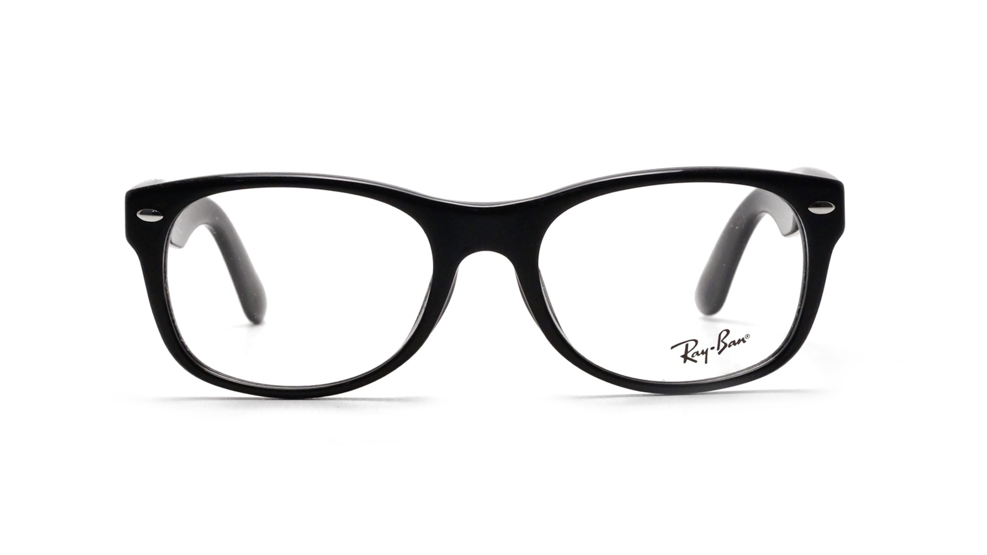 ff52ddb98 Lunettes de vue Ray Ban New Wayfarer Asian Fit Black RX5184 RB5184F 2000 52  18 | Visiofactory