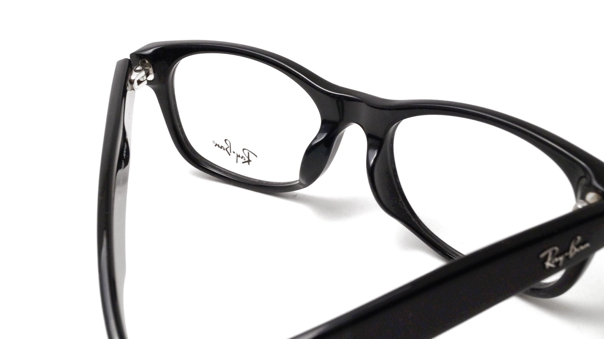 873d552ced Lunettes de vue Ray Ban New Wayfarer Asian Fit Black RX5184 RB5184F 2000 52  18
