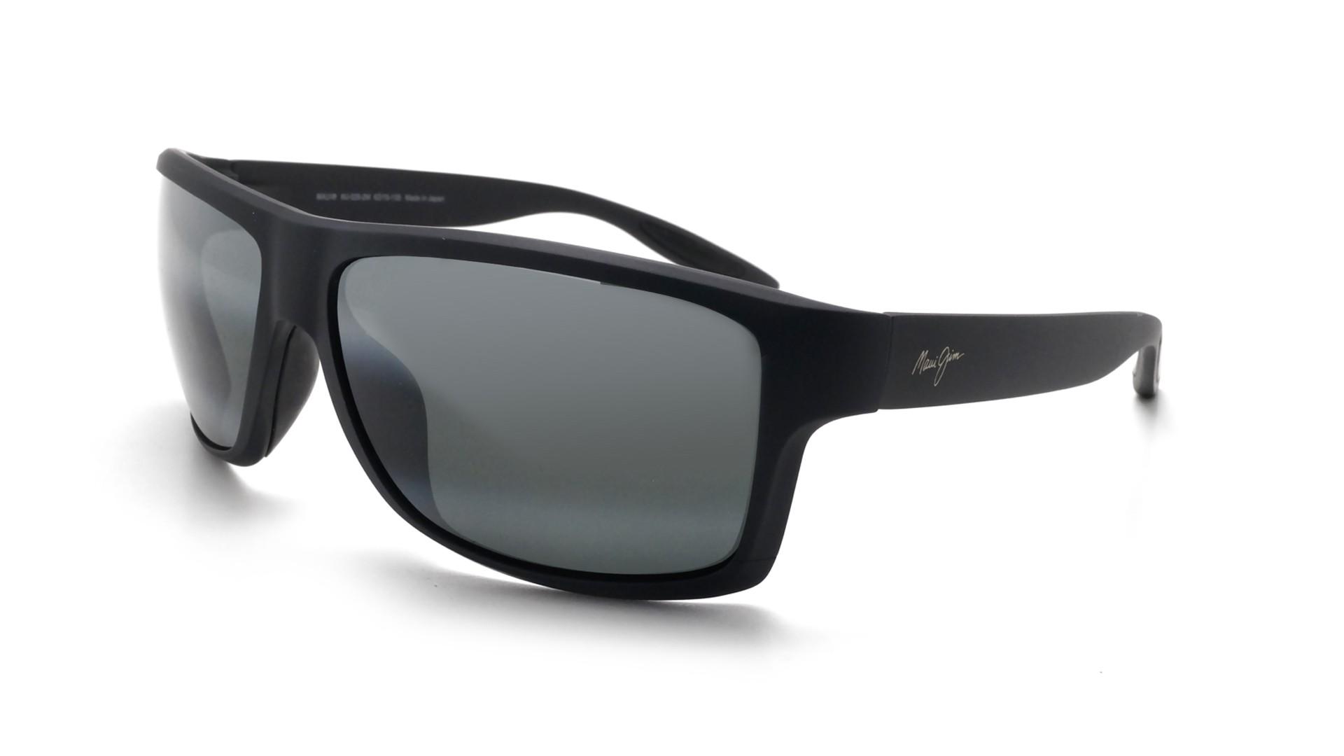 cdd1337f44d5 Sunglasses Maui Jim Pohaku Grey Matte Maui pure 528 2M 62-15 Medium  Polarized Mirror