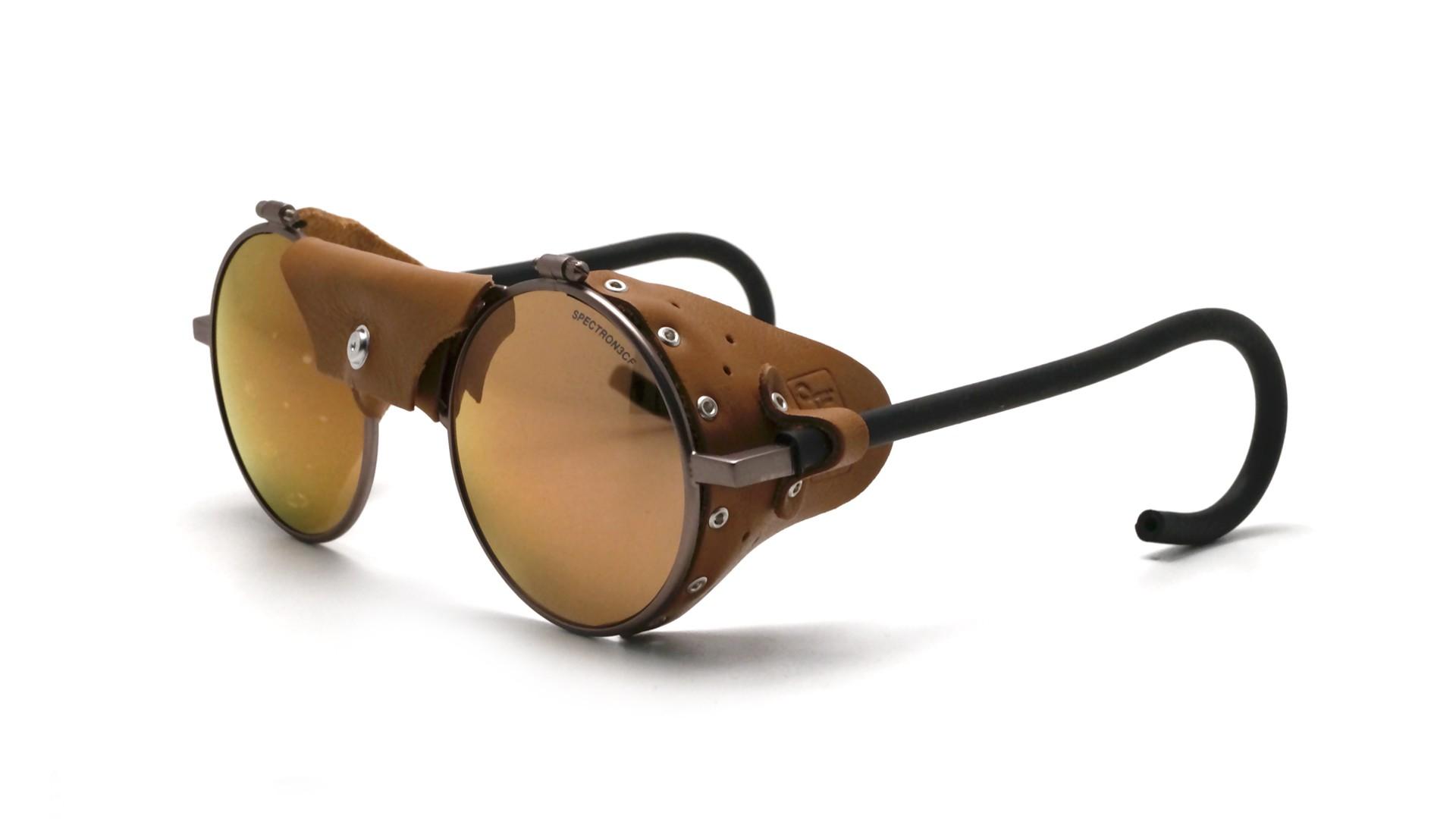 fd03d01922 Sunglasses Julbo Vermont Classic Laiton Brown J010 11 50 Brown leather  shell Brown Lenses 51-23 Medium Flash