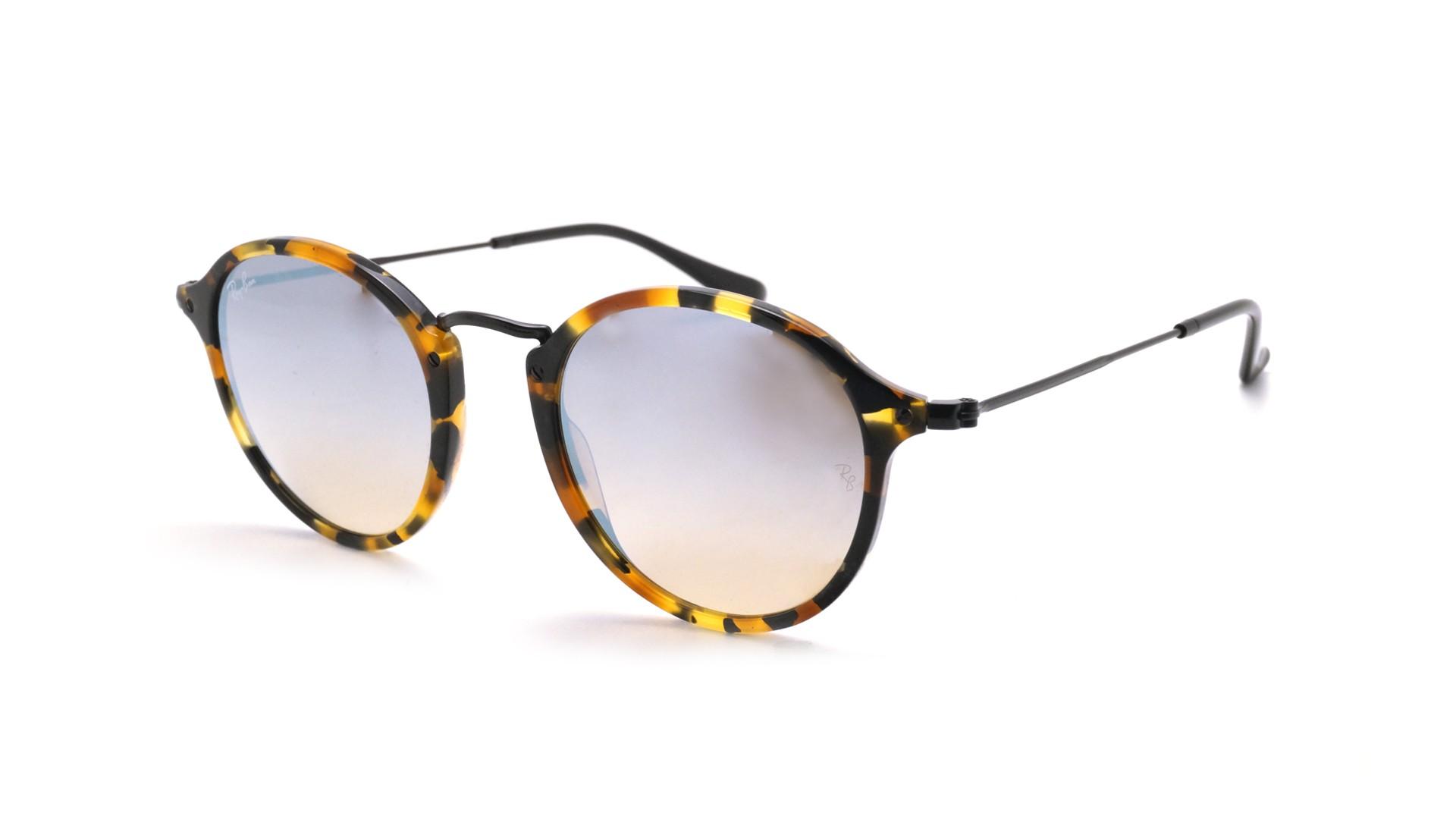 fa858ff0e5 Sunglasses Ray-Ban Round Tortoise RB2447 1157 9U 49-21 Medium Gradient  Mirror