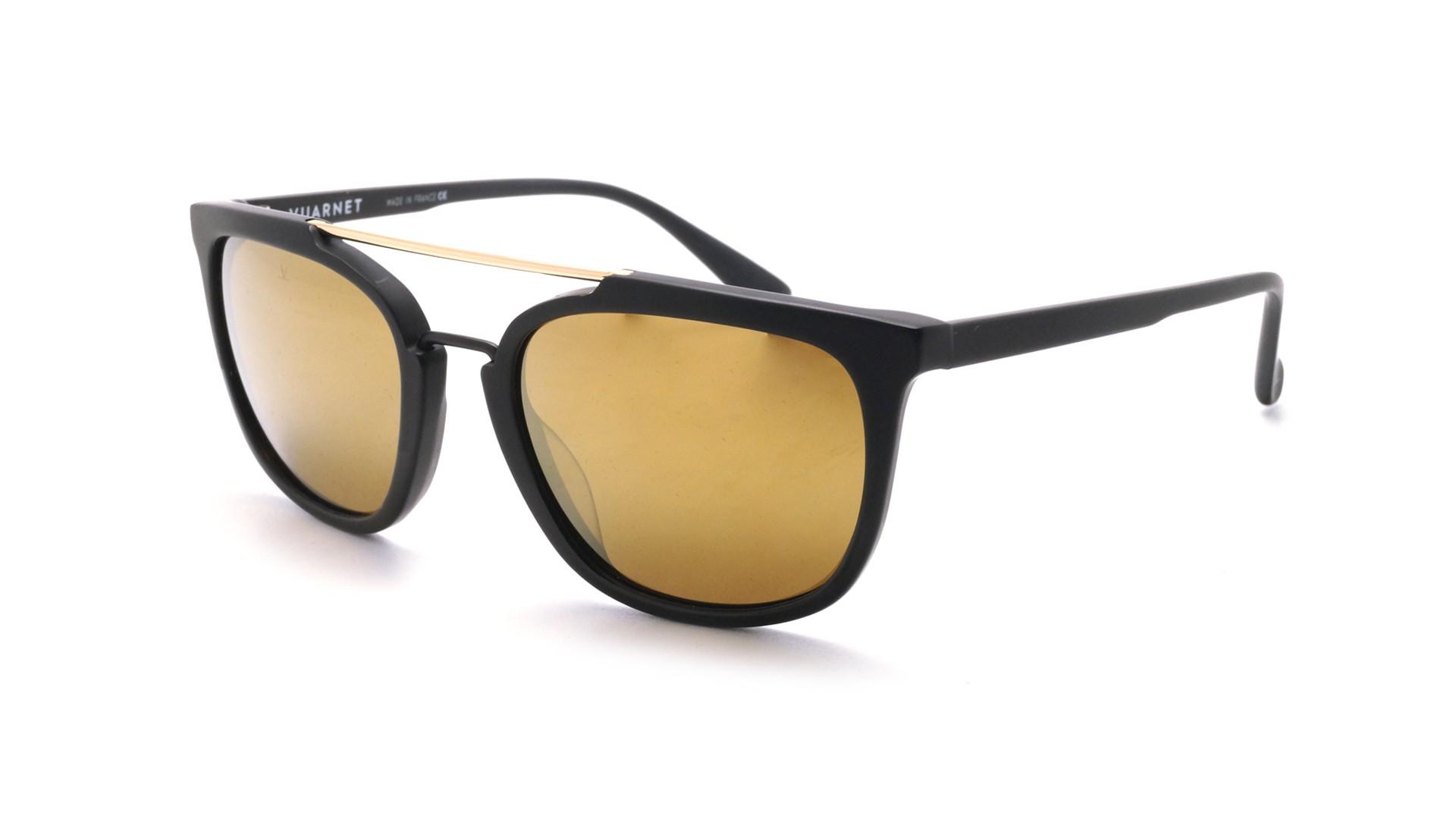 223f0209c72b Sunglasses Vuarnet Cable Car Square Black Matte VL1604 0001 53-18 Medium  Mirror