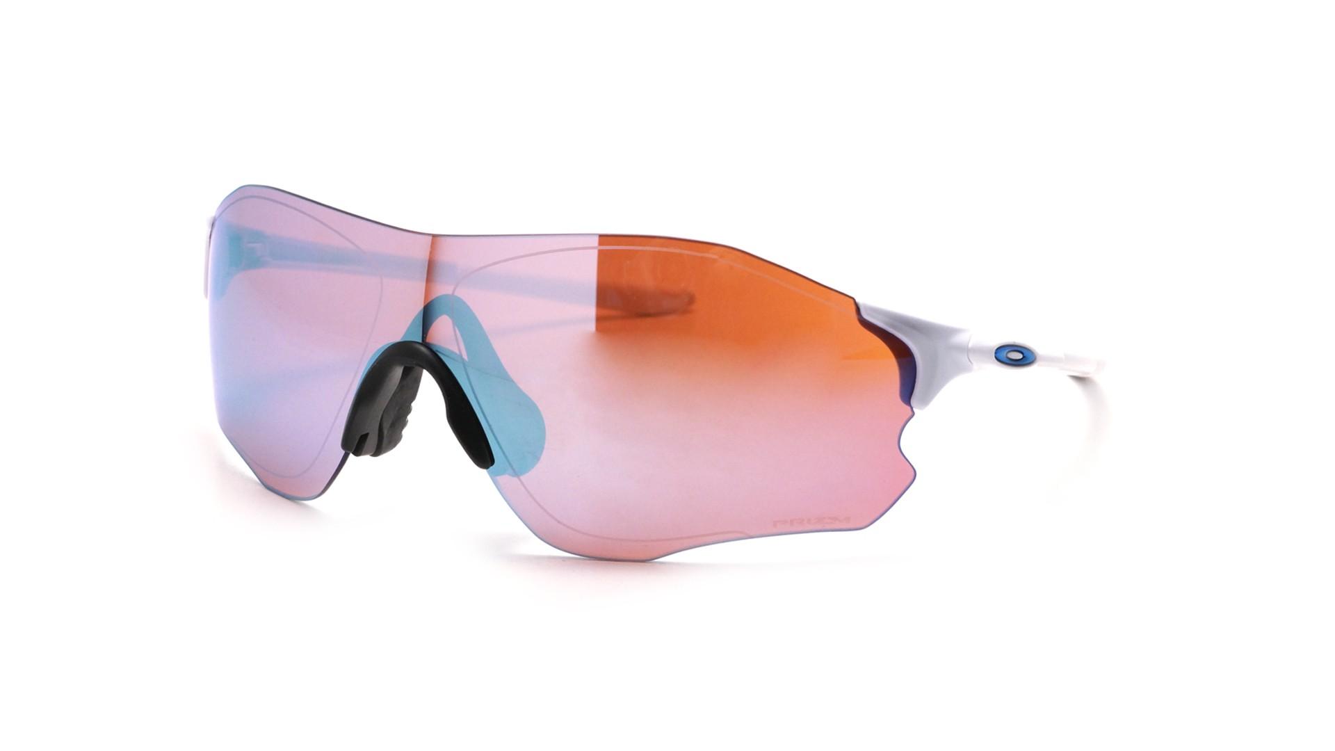 1fa8af182bde1 Sunglasses Oakley Evzero path snow White Prizm OO9308 1238 Large Mirror