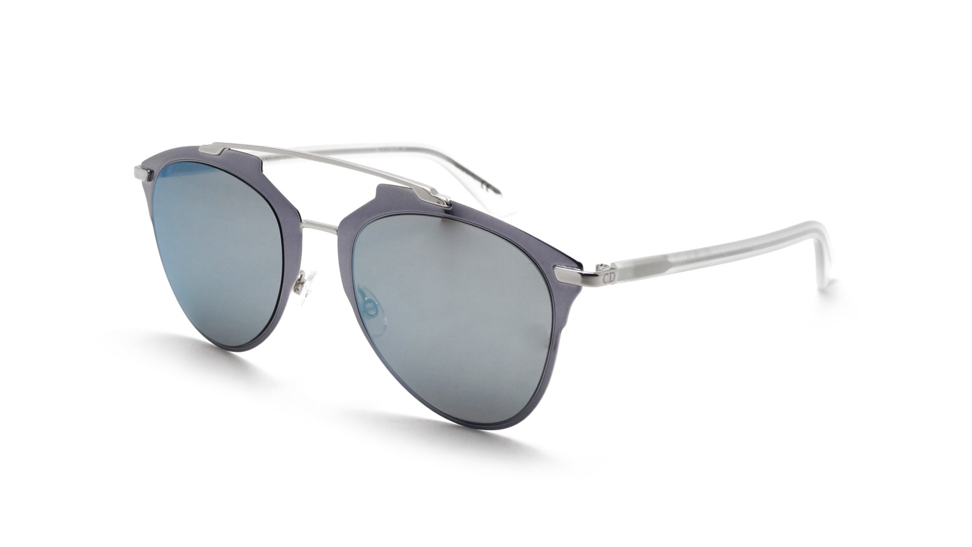 45f8acdfee439c Lunettes de soleil Dior Reflected Bleu REFLECTED P3RT7 52-21 Medium Miroirs