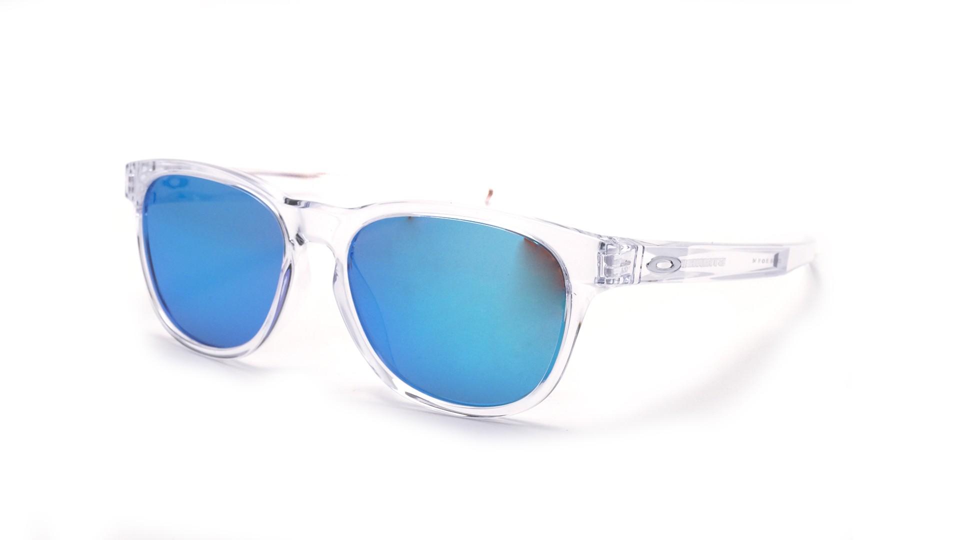 Lunettes de soleil Oakley Stringer Polished clear Transparente OO9315 06  55-16 Medium Miroirs 9fbd5eb39876