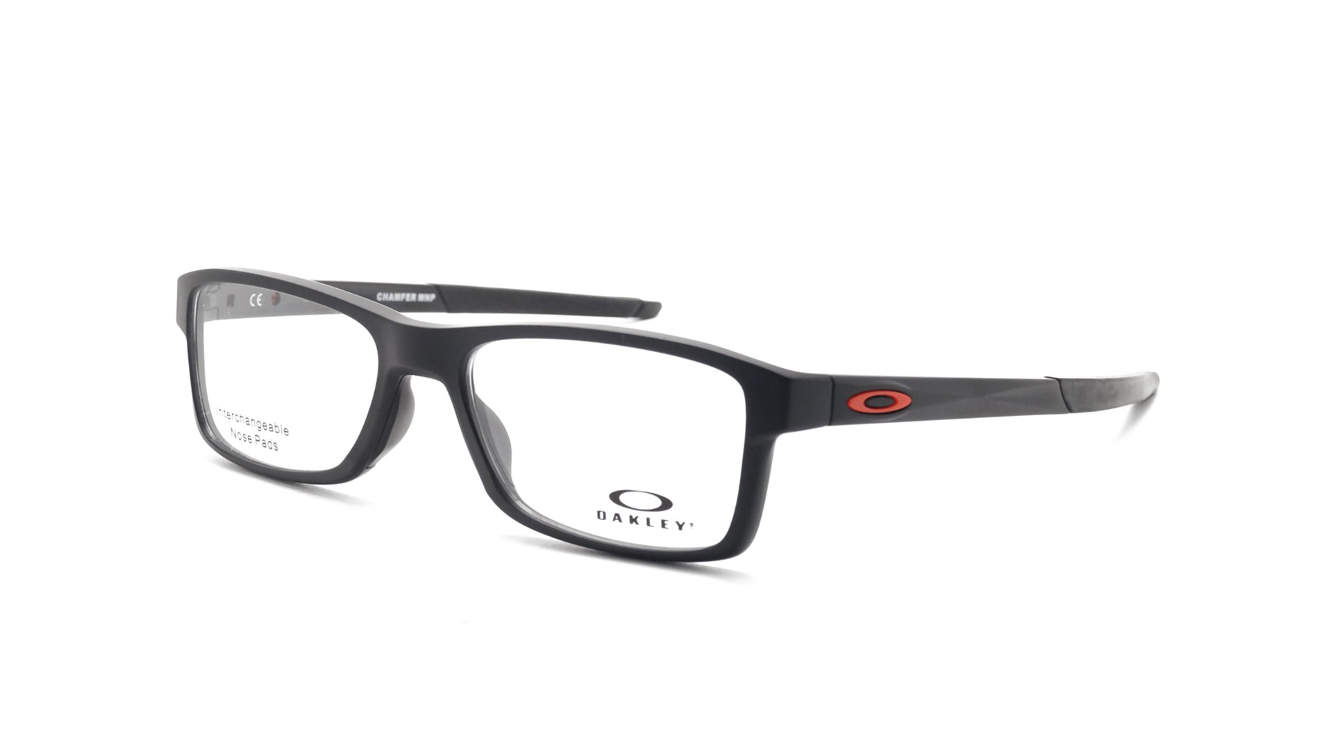 2932d2c3b6 Oakley Chamfer mnp Satin black Tru bridge Mat OX8089 01 54-18 ...