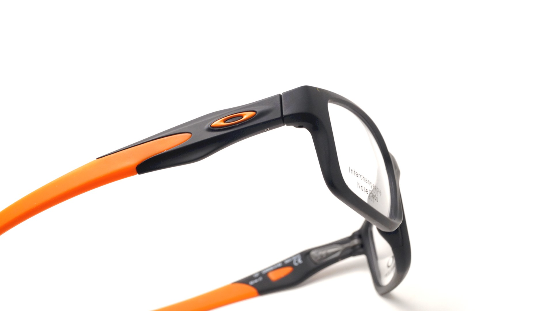 c7edd2fa3fd Oakley Crosslink mnp Satin black Tru bridge Mat OX8090 01 55-17 ...