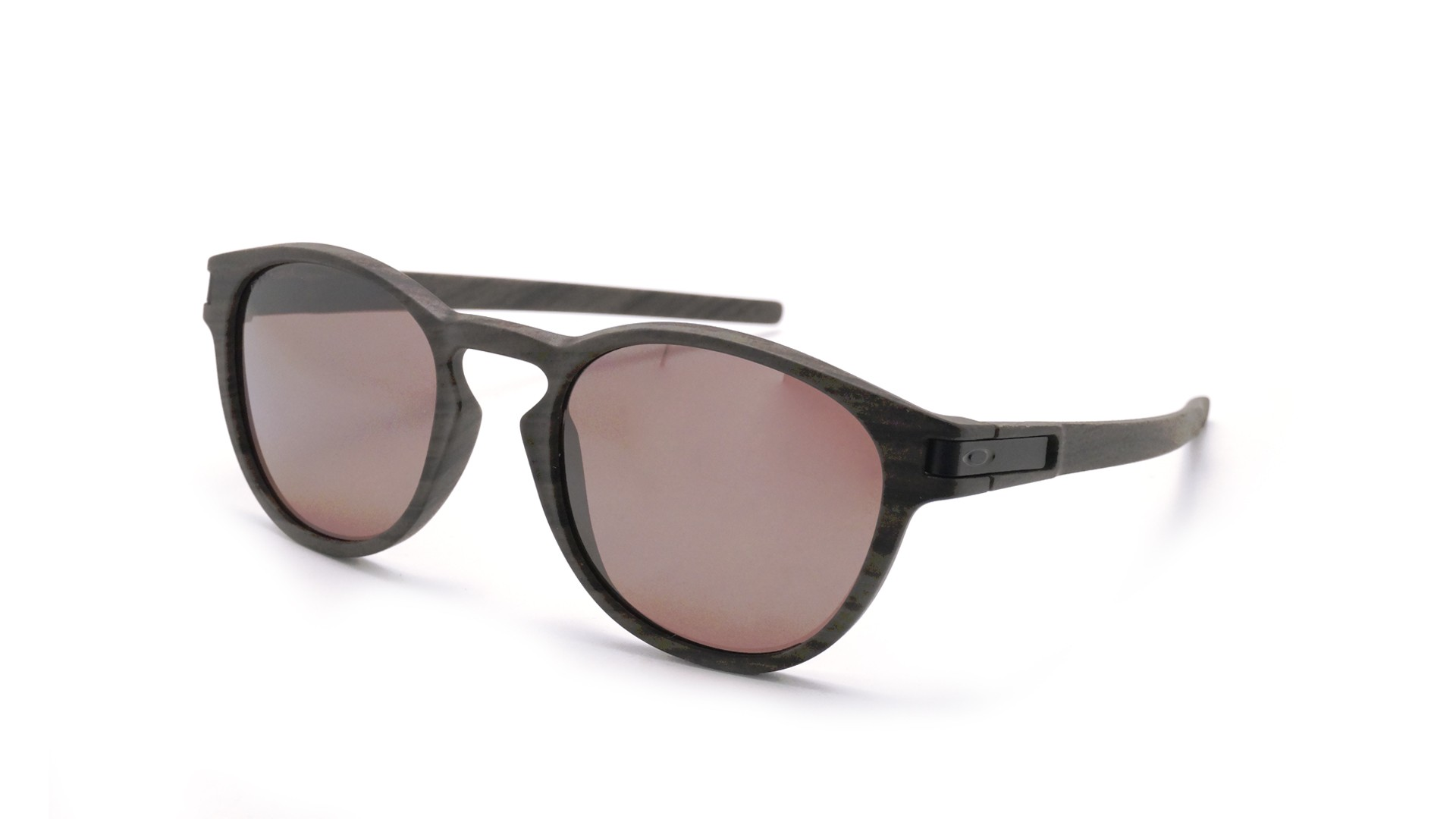 80e016c728 Sunglasses Oakley Latch Woodgrain Brown Matte OO9265 12 53-21 Medium  Polarized