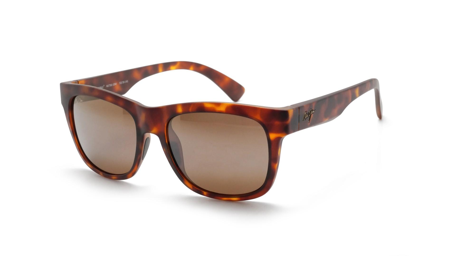 5a637c2eede3 Sunglasses Maui Jim Snapback Tortoise Matte HCL Bronze H730 10M 53-18  Medium Polarized