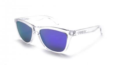 f157901933e7d Oakley Frogskins Clear Iridium OO9013 24-305 55-17 Medium Mirror