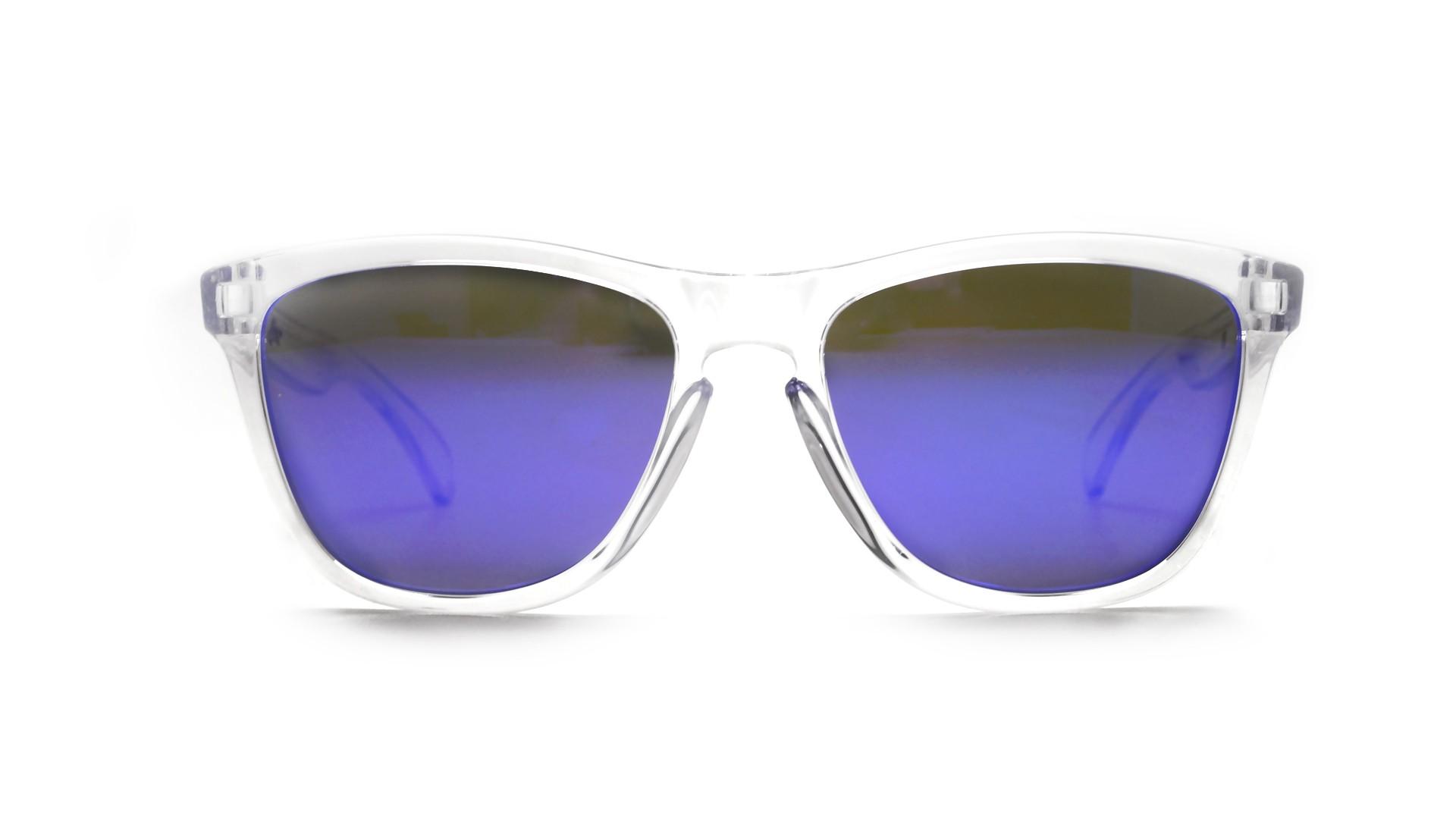 a36f28ef21 Sunglasses Oakley Frogskins Clear Iridium OO9013 24-305 55-17 Medium Mirror