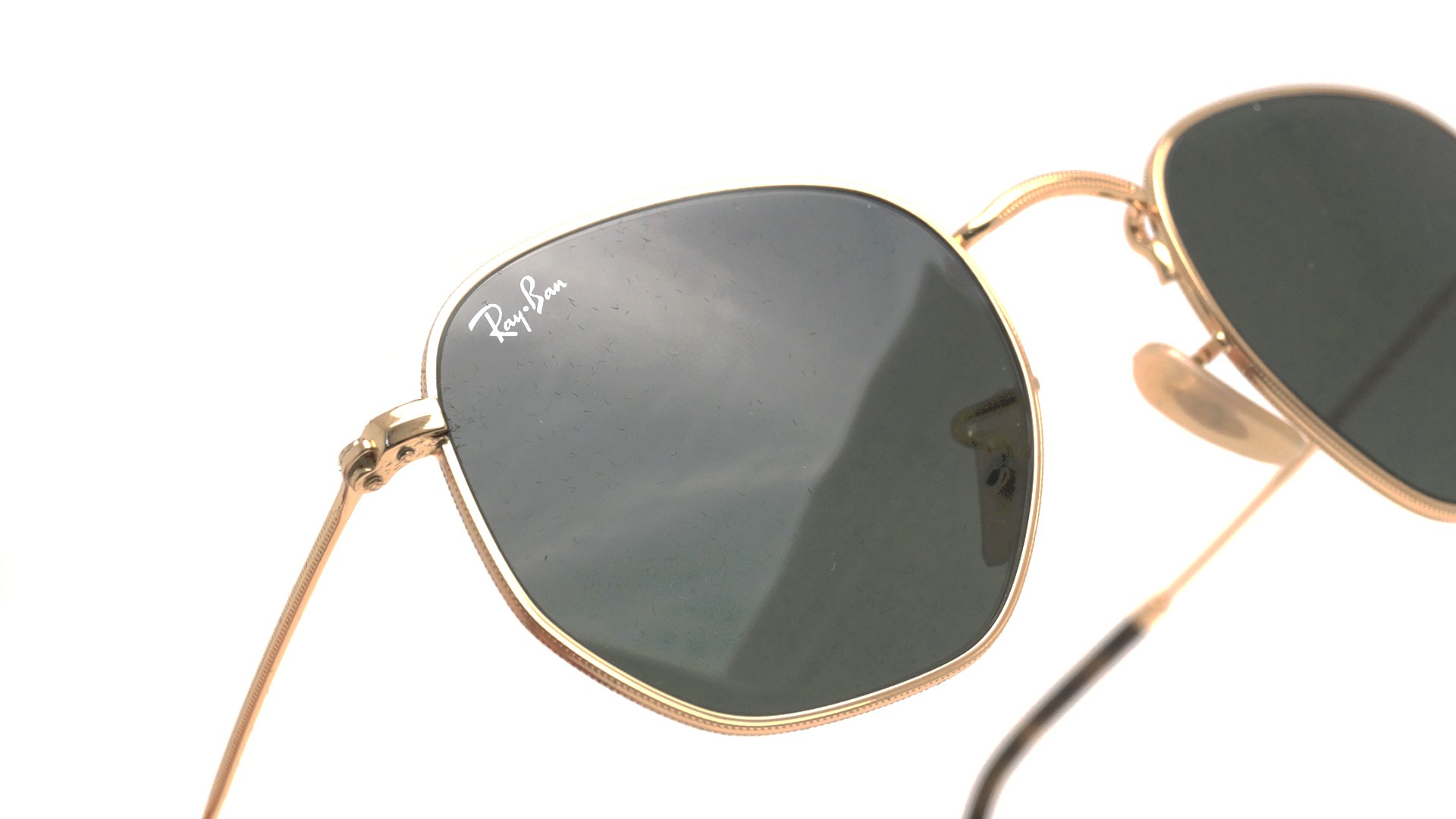 Ray-Ban Hexagonal Flat Lenses RB3548N 001 51-21 Or   Visiofactory 4d3887675f