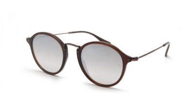 Ray-Ban Round Fleck Flat Lenses Brown RB2447N 6256/9U 49-21 Gradient 99,92 €