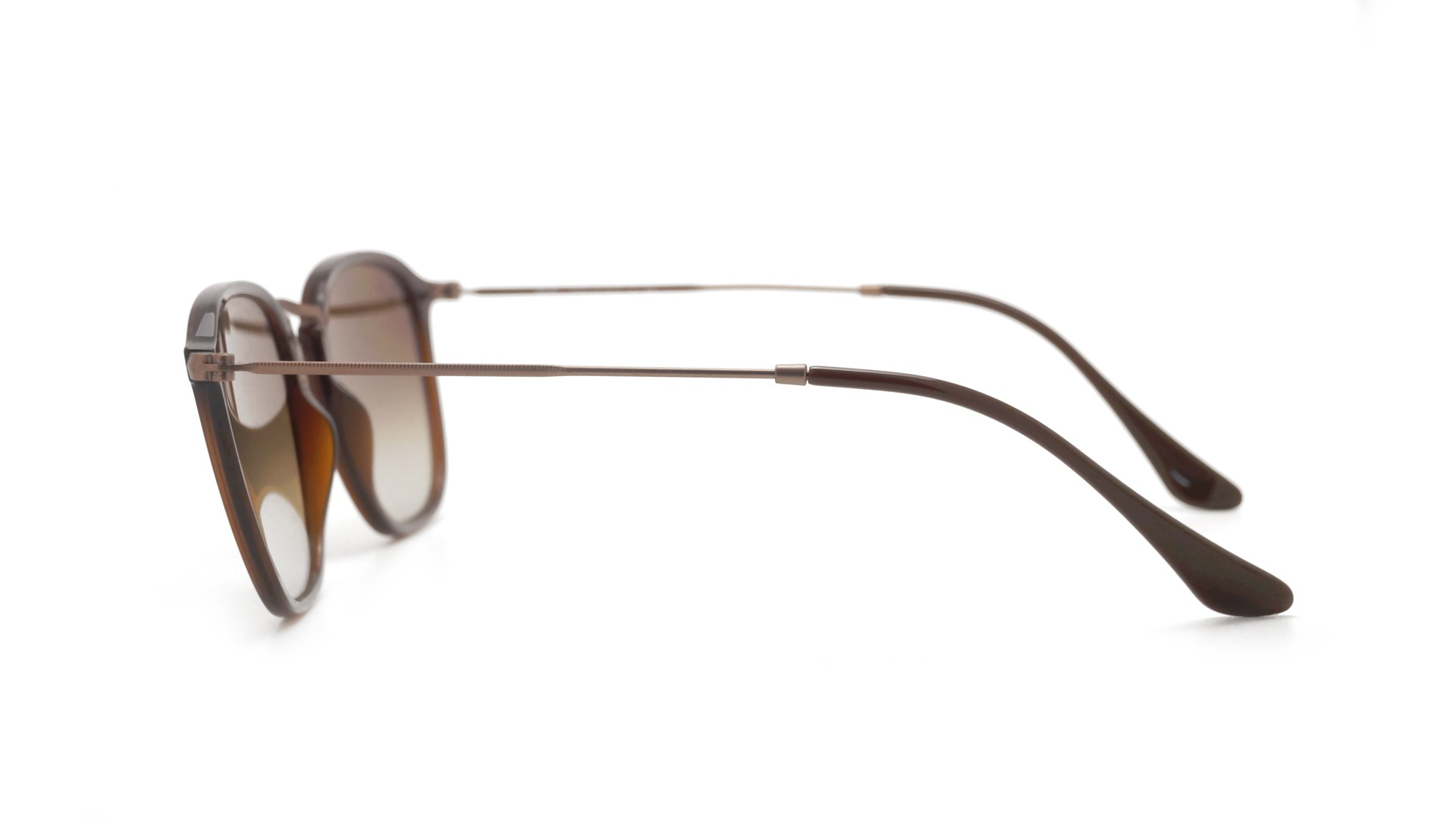 808bee1698 Ray-Ban RB2448N 6256 9U 51-21 Brown Gradient Flat Lenses