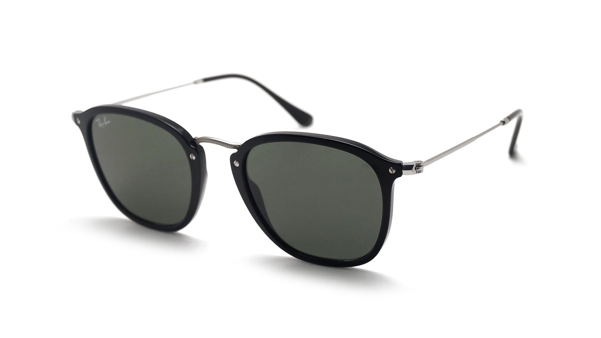 2a5f902cdcb19 Sunglasses Ray-Ban RB2448N 901 51-21 Black G-15 Flat Lenses Medium