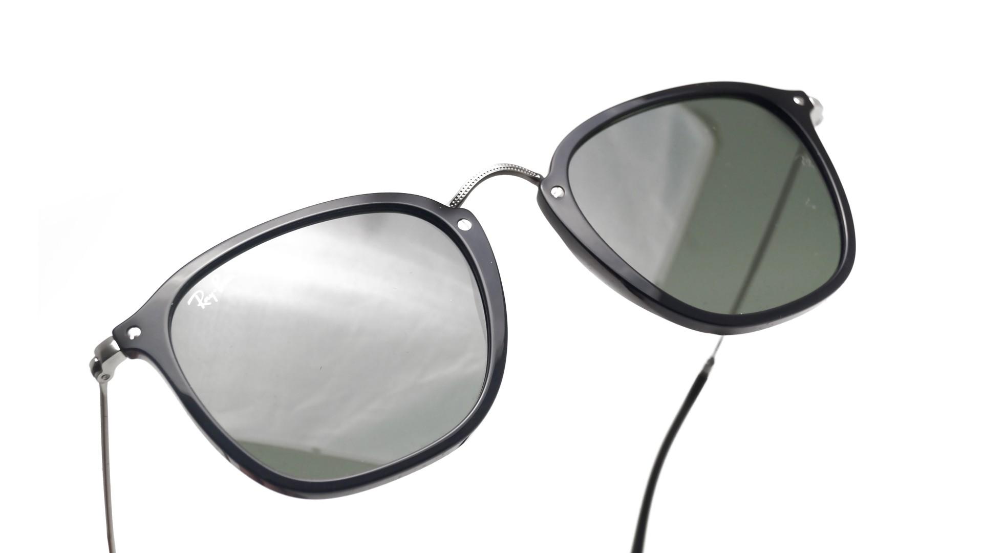 592165d52ce7ff Lunettes de soleil Ray-Ban RB2448N 901 51-21 Noir G-15 Flat Lenses Medium