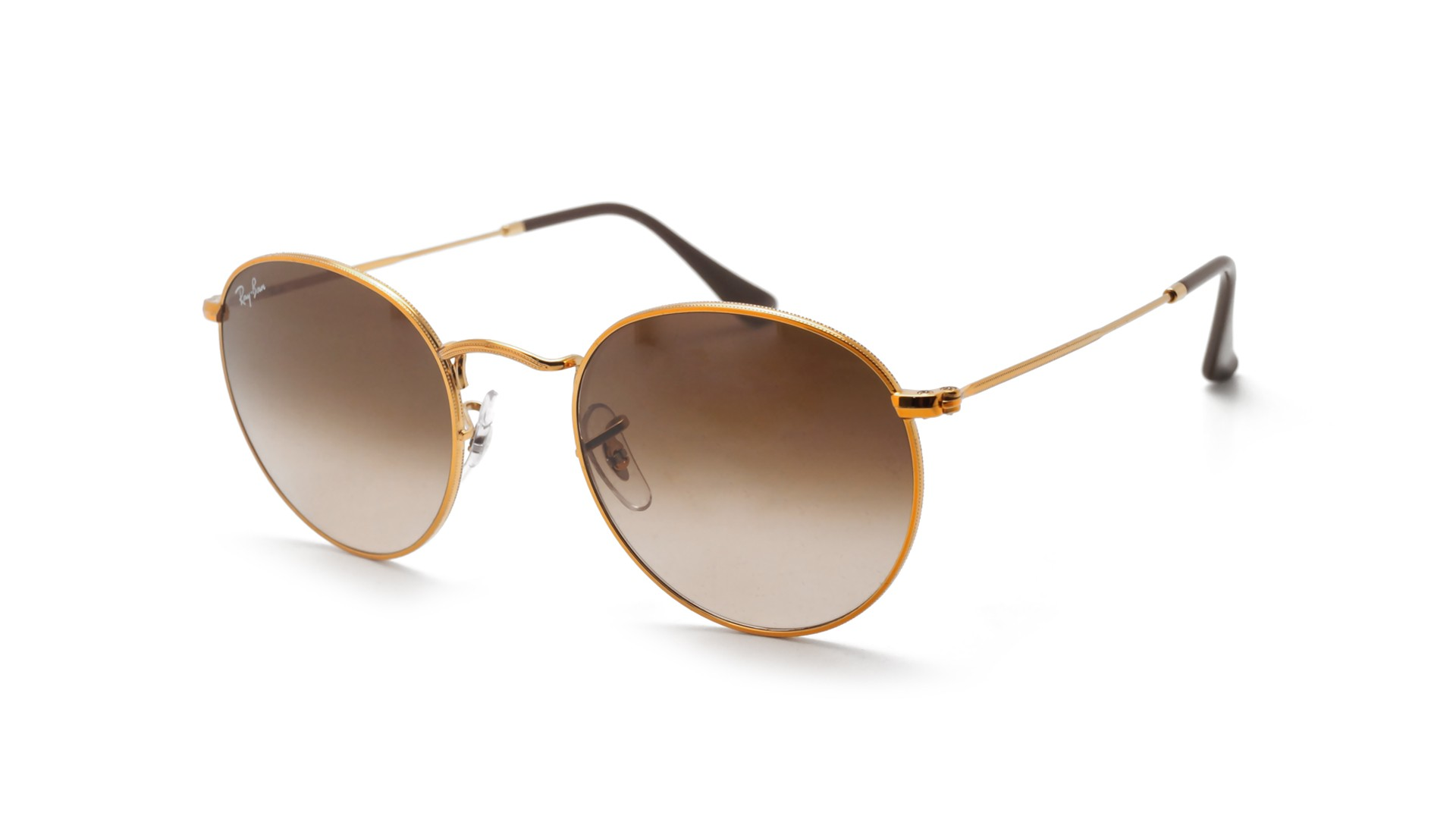 58333344cfa Ray-Ban Round Metal Gold RB3447 9001 A5 50-21 Gradient