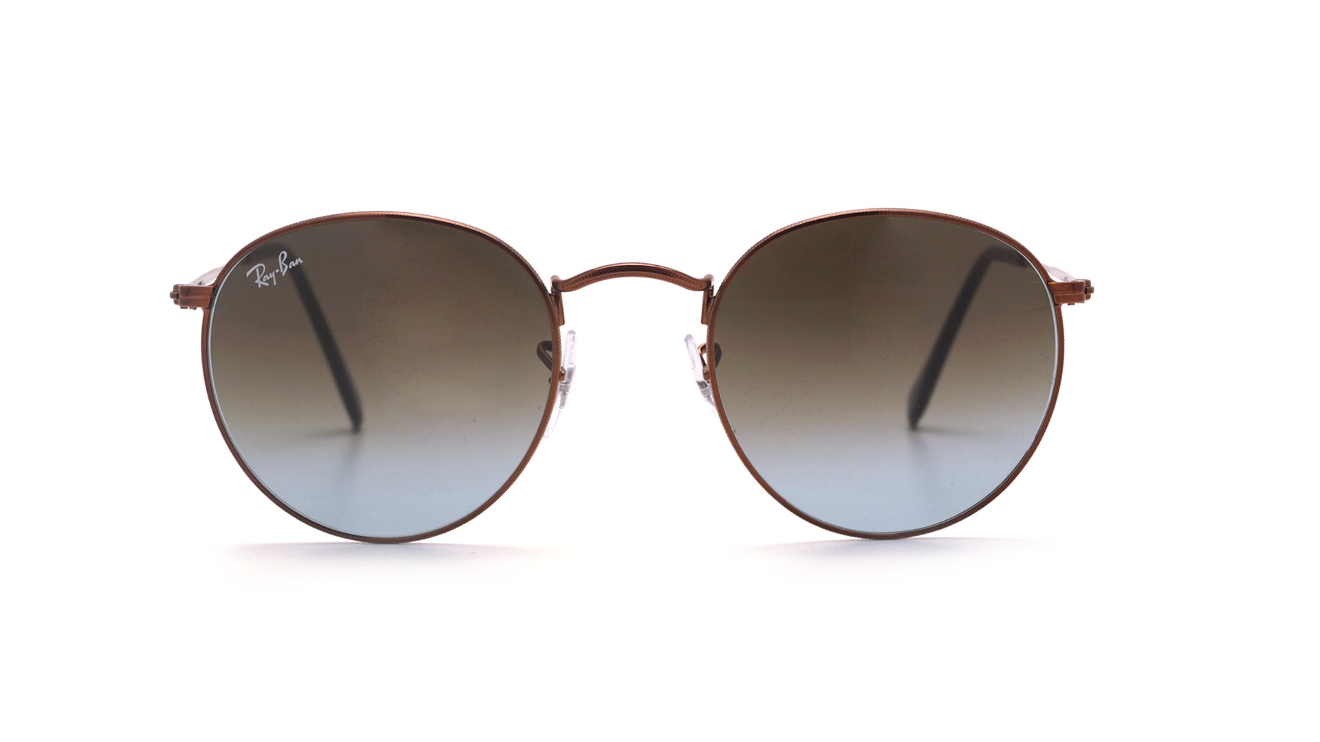 acd9b9bc1f ... best price sunglasses ray ban round metal brown rb3447 9003 96 50 21  medium gradient 6bb73 ...