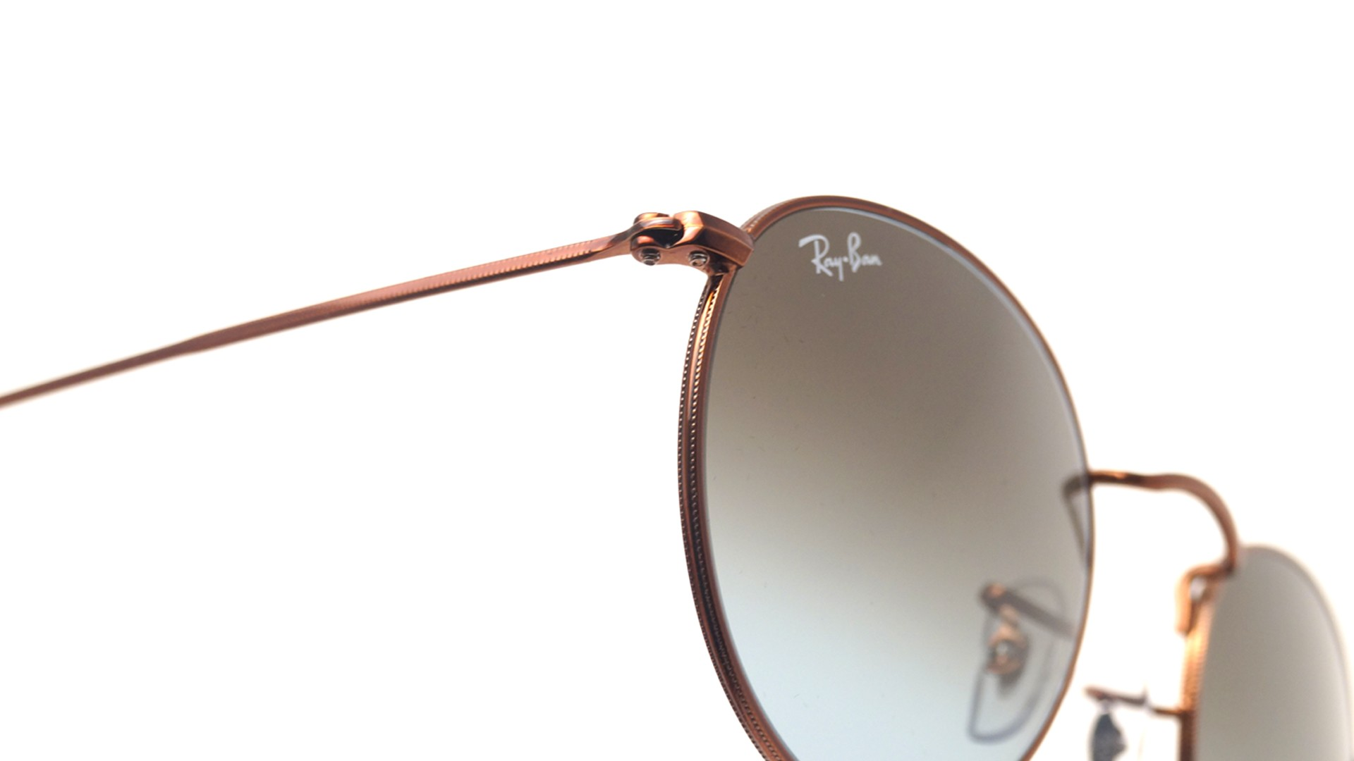 ce41b69079 Sunglasses Ray-Ban Round Metal Brown RB3447 9003/96 50-21 Medium Gradient