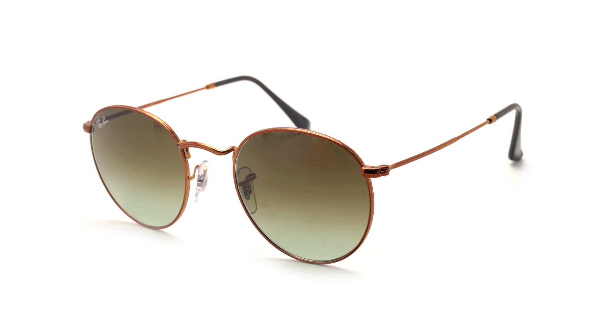 596b294382 Sunglasses Ray-Ban Round Metal Brown RB3447 9002/A6 50-21 Medium Gradient