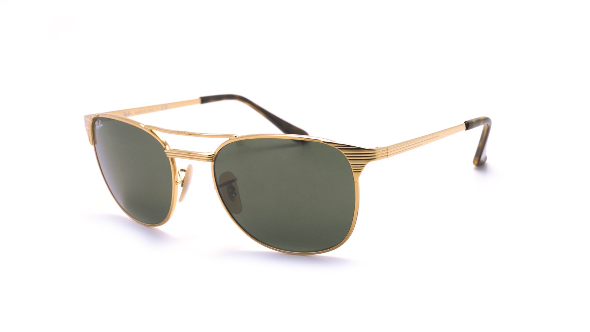 35f222484c Sunglasses Ray-Ban Signet Gold G-15 RB3429M 001 55-19 Medium