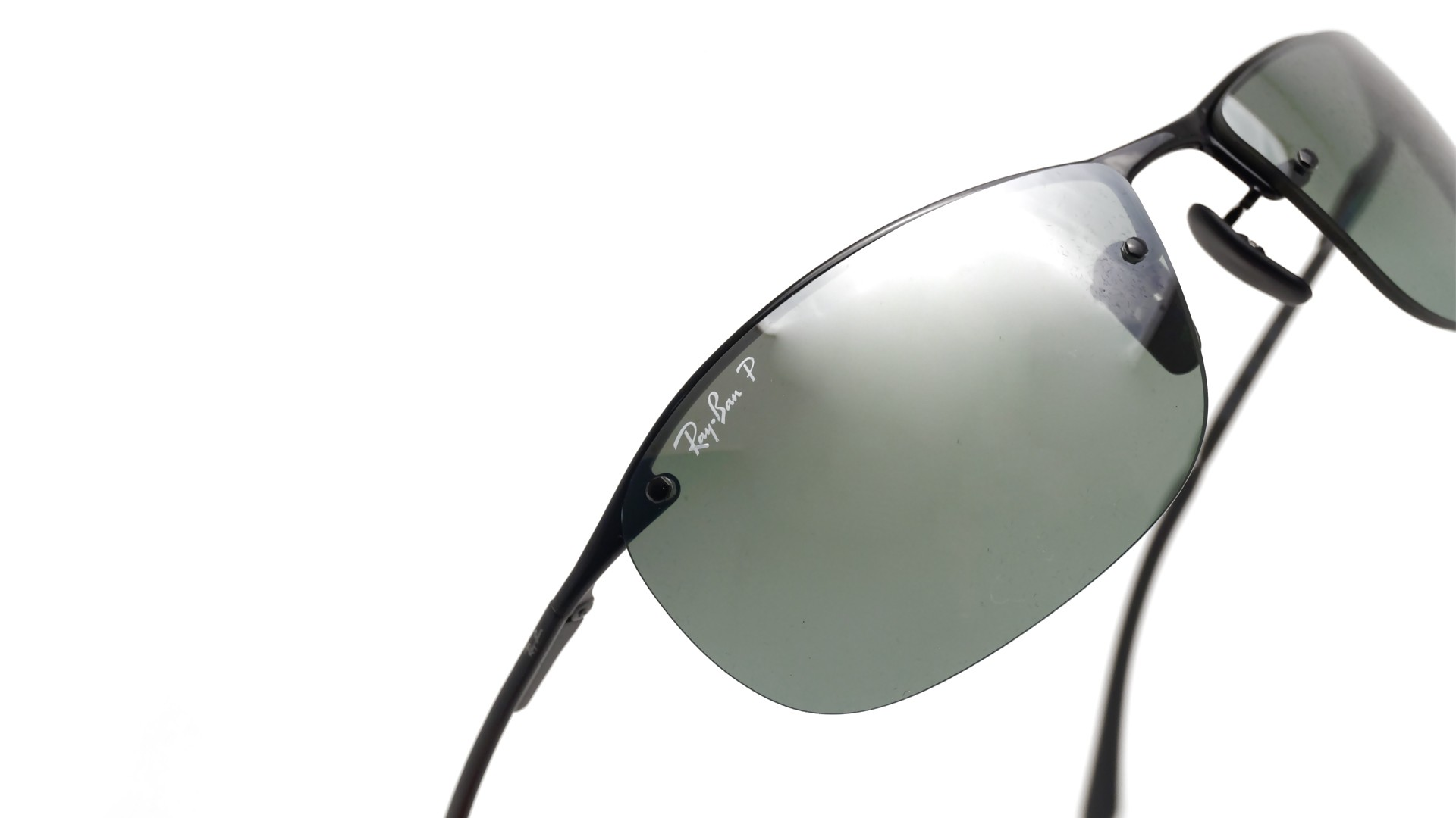 389c4c3688 Sunglasses Ray-Ban RB3542 002 5L 63-15 Black Large Polarized Mirror