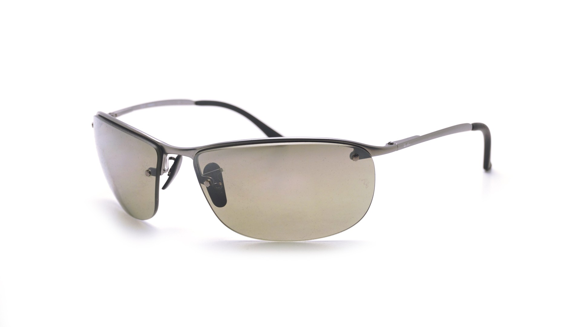 c20e2d7fbb Sunglasses Ray-Ban RB3542 029 5J 63-15 Silver Matte Large Polarized Mirror