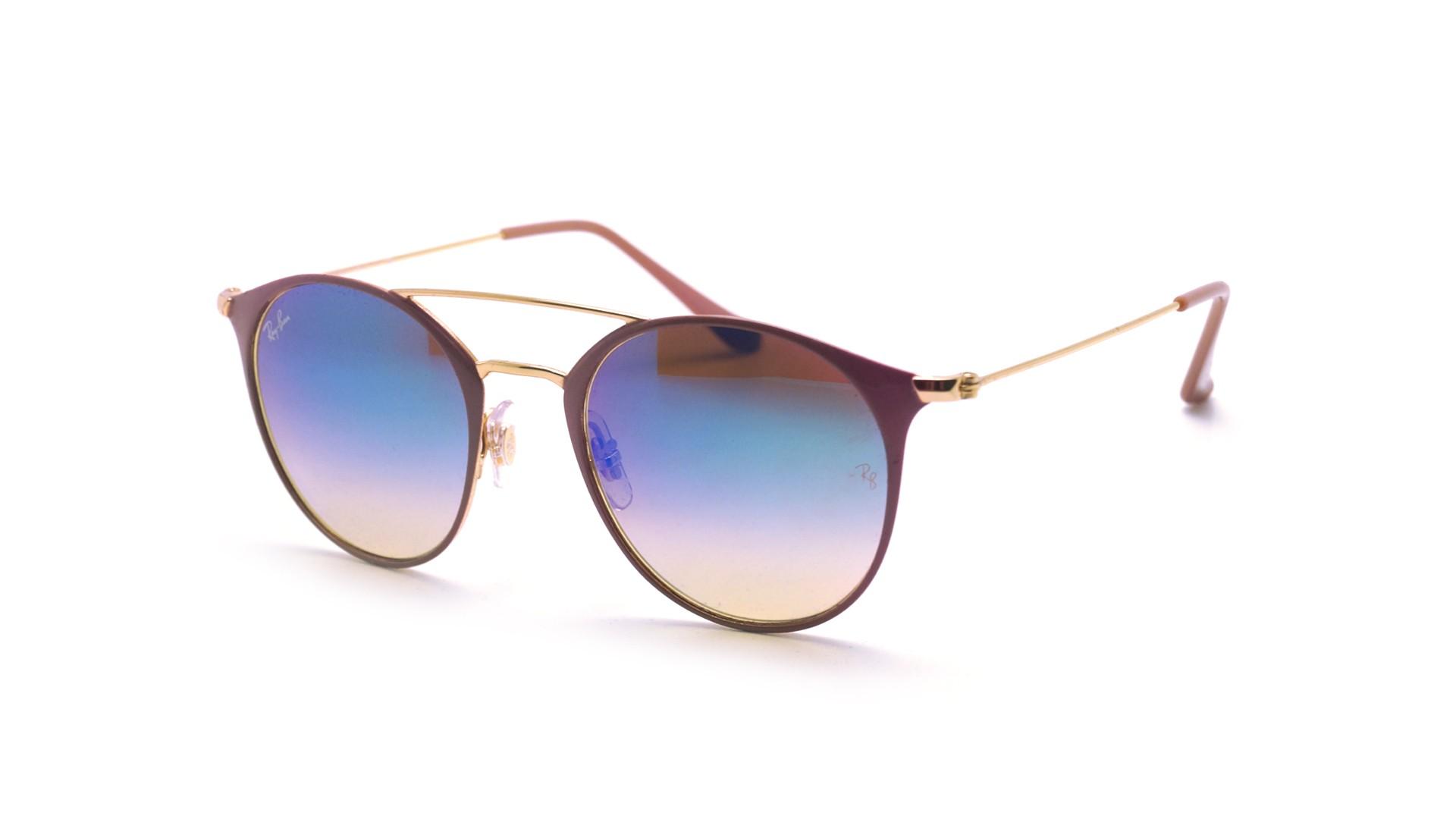 125c6e3a8dc6 Sunglasses Ray-Ban RB3546 9011/8B 49-20 Purple Small Gradient Mirror