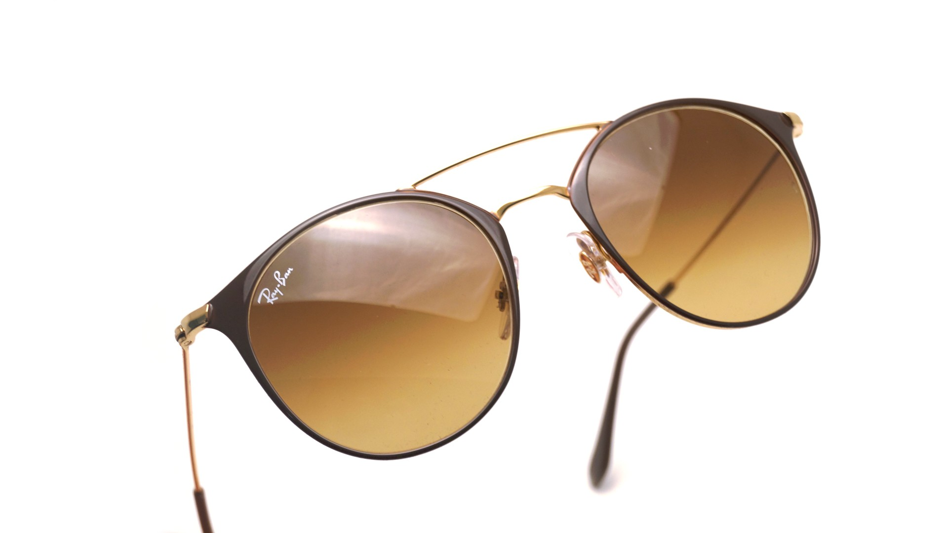 Sunglasses Ray-Ban RB3546 9009 85 49-20 Brown Small Gradient 87290a5bbf5