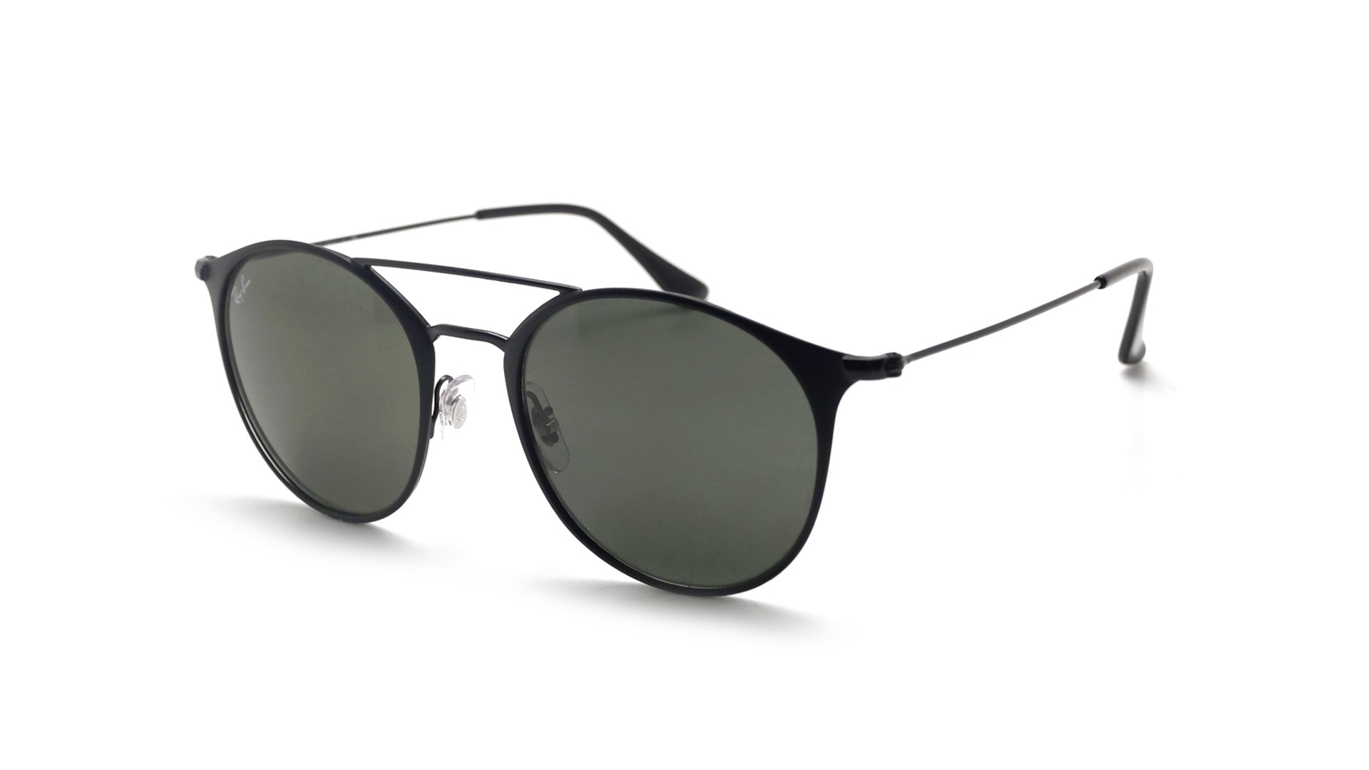 0b3a744df81 Sunglasses Ray-Ban RB3546 186 52-20 Black Matte Medium
