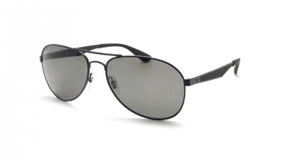 aba75d7c81 Sunglasses Ray-Ban RB3549 006 9A 61-16 Black Matte Large Polarized